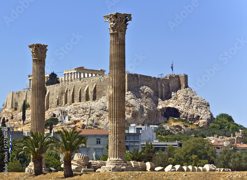 Temple of the Olympian Zeus, Athens, Greece