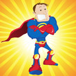 Super Man Hero Dad.