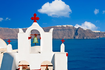Kirche auf Santorini in Oia