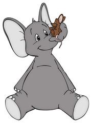 Elefant, Maus, Freunde, Feinde, Frieden