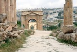 Roman city Jerash in Jordania
