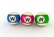 www and billiard balls