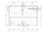 Construction drawing of a floor slab poster
