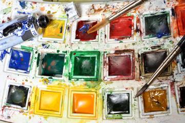 boîte d'aquarelliste