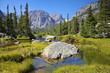 Rockt Mountain Landscape