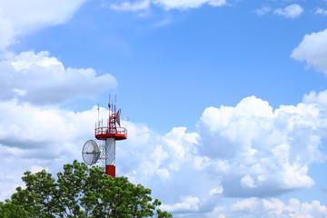 ATC communications tower