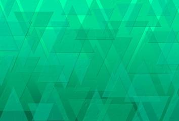 Hellgrüner Hintergrund mit Länderprägung