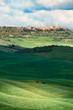 Tuscany landscape - city Pienza