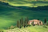 Fototapety Tuscany landscape - belvedere