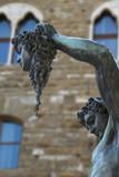 Firenze, loggia dei Lanzi, Perseo e la Medusa poster