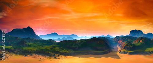 Fototapeten,landschaft,himmel,wolken,schönheit