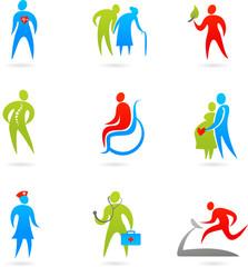 Healthcare icon set
