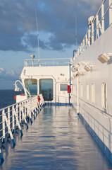 a bordo nave