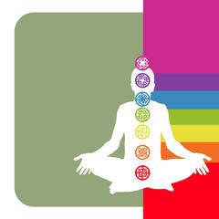 7 Chakras en arc-en-ciel -- anahata