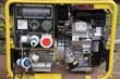 Leinwanddruck Bild - Stromaggregat