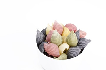 Colorful Pasta Shells