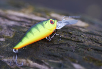 Green fishing bait