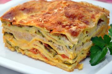 Lasagne vegetariae alle zucchine