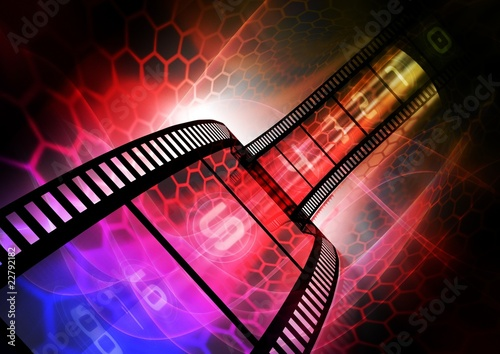 Colorful photography background