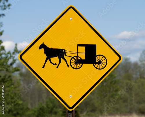 Horse and Buggy Warning