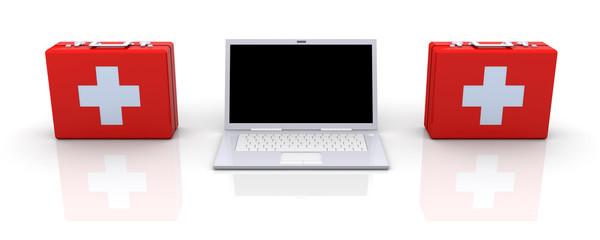 Erste Hilfe für Laptops