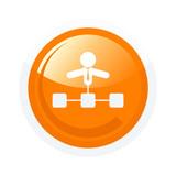 administrator symbol zeichen netzwerk button poster