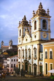 rosario dos pretos church in salvador of bahia