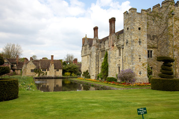 Hever Castle in Spring
