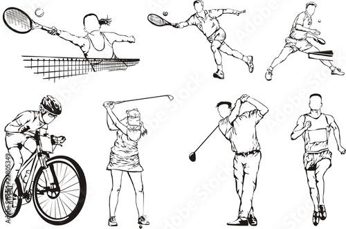 sport silhouette 3