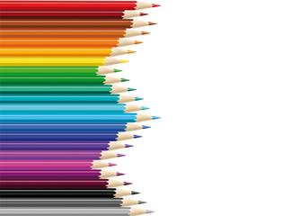 colorama de crayons de couleur