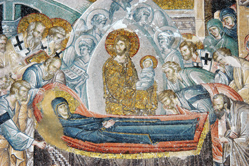 The death scene of Virgin Mary, Istanbul