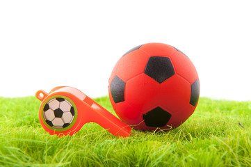 Whistle and ball