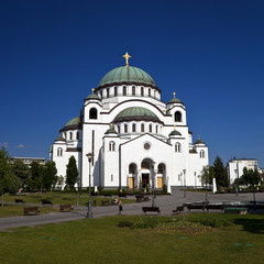 Temple of St. Sava, Belgrade, Serbia