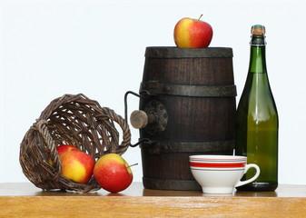 cidre, pomme, jus, bretagne, normandie, tonneau