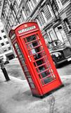 cabine de téléphone anglais