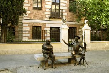 Alcala de Henares, Spain – statue of Don Quixote