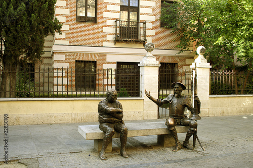 Alcala de Henares, Spain – statue of Don Quixote