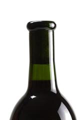 Flasche Rotwein , isoliert