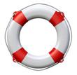 Leinwandbild Motiv Life buoy