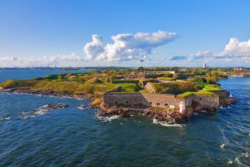 Suomenlinna fortress in Helsinki, Finland