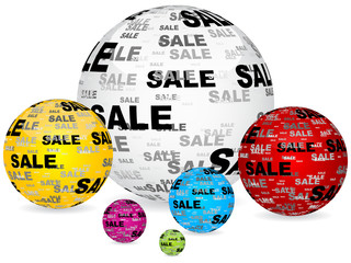 sale balls background