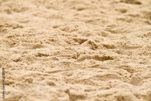 Leinwandbild Motiv beach volleyball sand