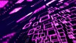pink matrix abstract wallpaper - hdtv format