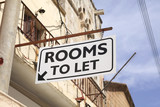 Rooms to let sign in greece