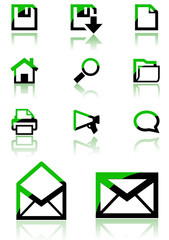 web icons and design elements