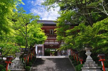 Kurama temple in Kyoto,Japan