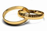 Fototapety anillos de oro