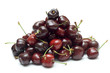 Pile of Organic Cherries