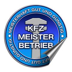 Aufkleber - KFZ Meisterbetrieb (02)
