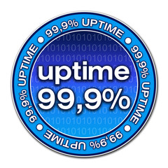 Sticker Uptime - 99,9% (05)